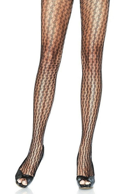 pantyhose star net in black