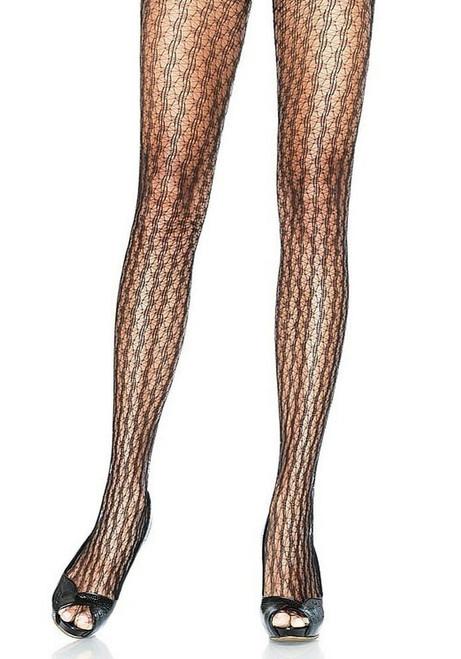 pantyhose star net in black