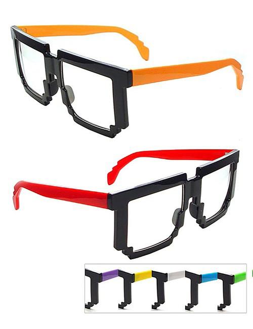 Pixel Color Frame Glasses