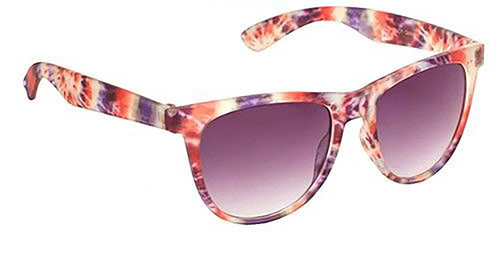 Multicolor Wayfarers Glasses