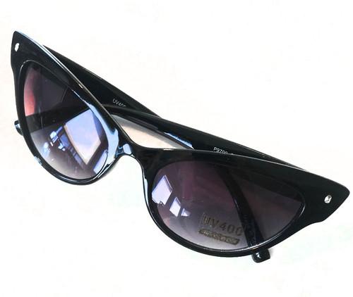 50s Black tinted sunglasses