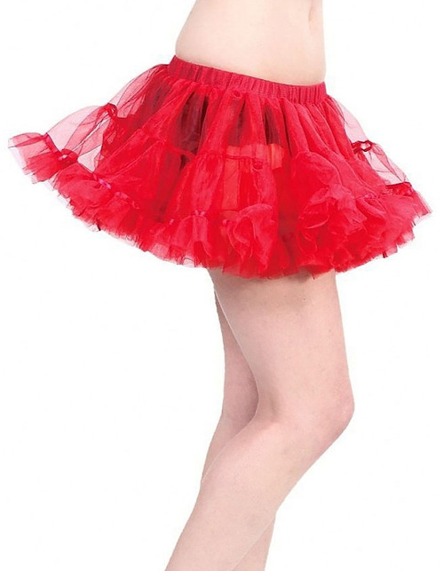 Mini Petticoat Red