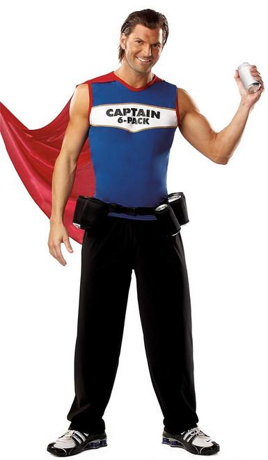 Captain 6 Pack Duffman Costume