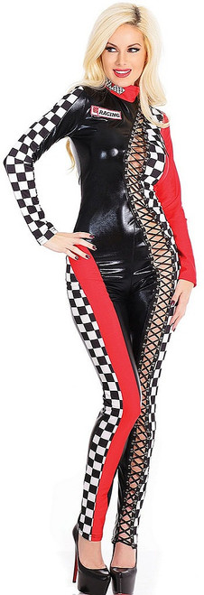 Racer Jumpsuit Costume