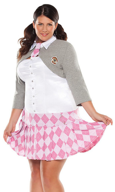 Prep School Girl Plus Costume