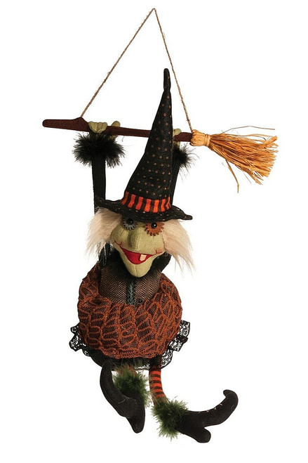 Animated Kicking and Screaming Witch 14""