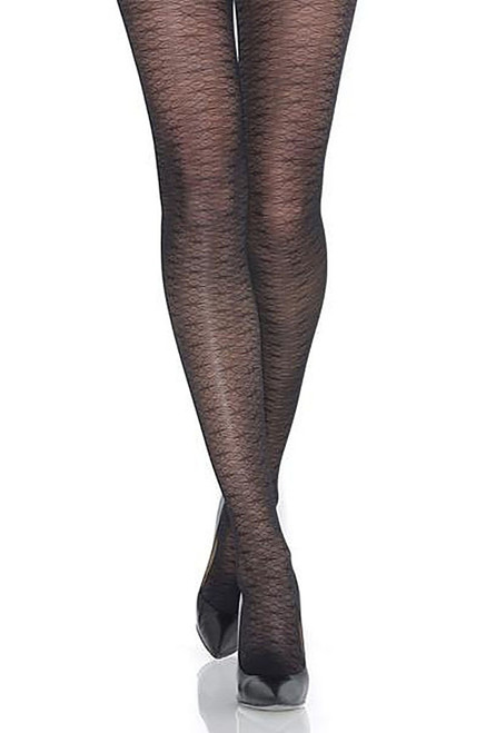 Mondor Dragonfly Motif Tights Black