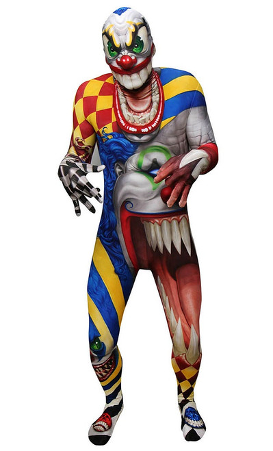 The Clown Morphsuit Adult Costume