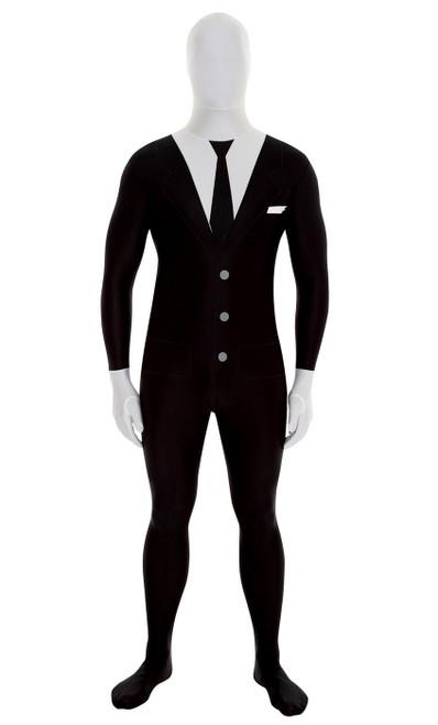Slenderman / Suit Morphsuit Costume