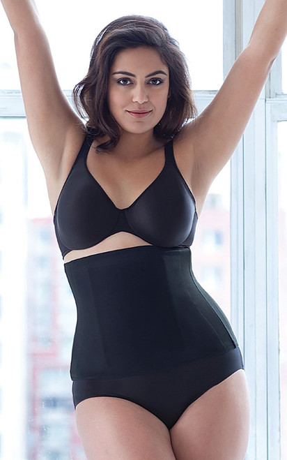 Waist Cincher Black Plus Size