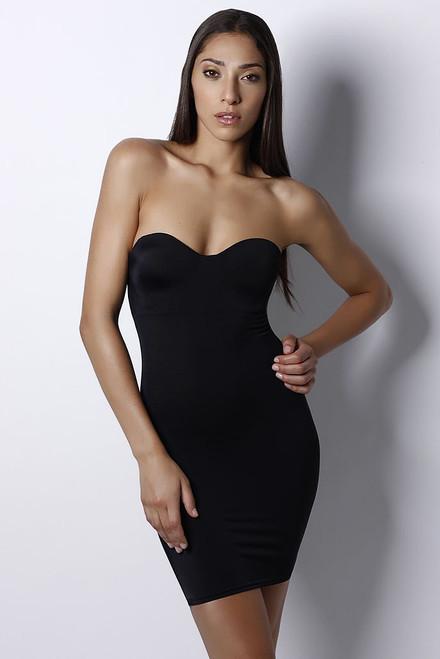 Bust-shaping Bodyslip Black
