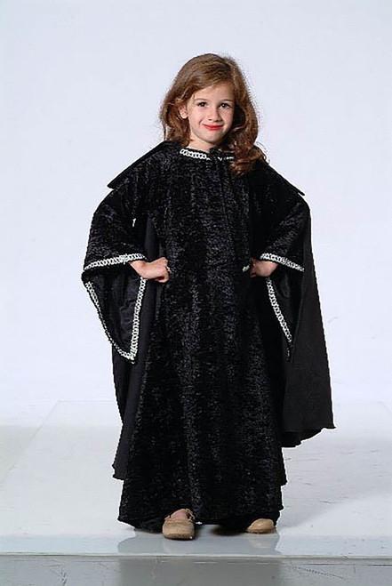 Medieval Princess  Black/Silver