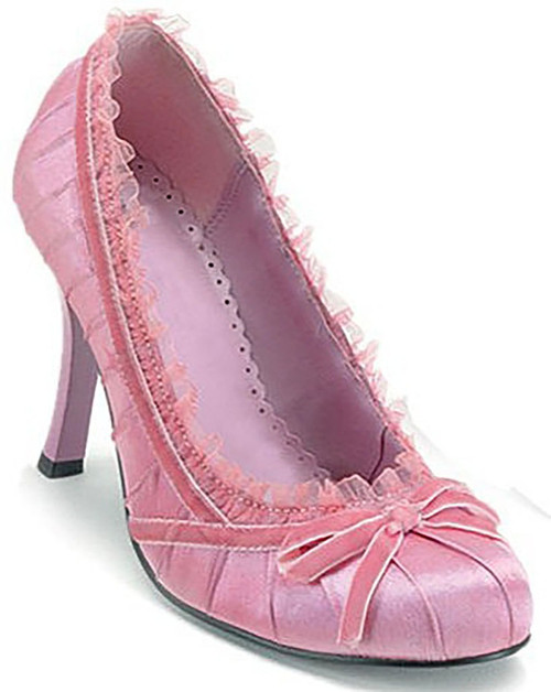 Dainty Pink Satin Shoes
