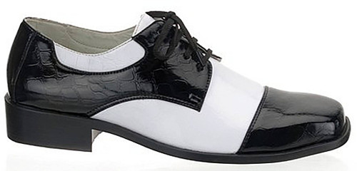 Black and White Men Shoes
