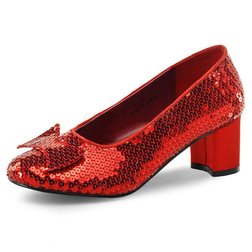 Dorothy Red Sequins Shoes
