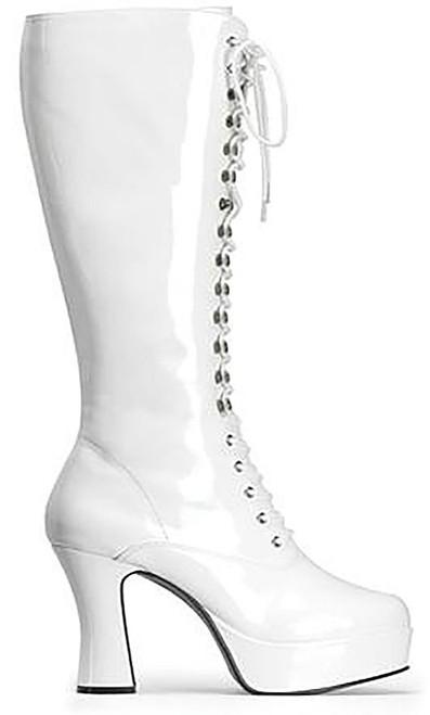 Exotica White Boot