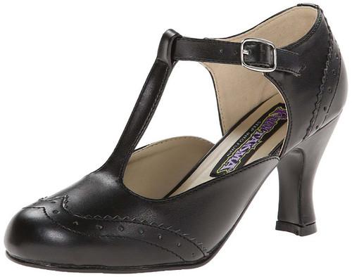 Flapper Black Shoes