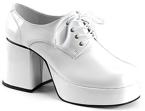 Jazz Man Shoes White