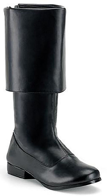 Pirate Man Boot Black