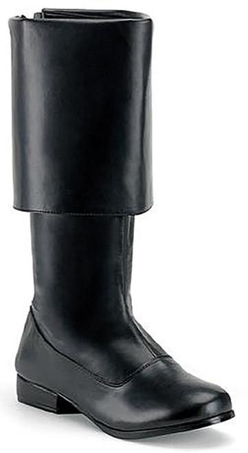 Pirate Man Boot Black