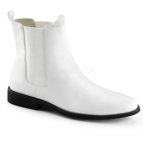 Trooper White Boot