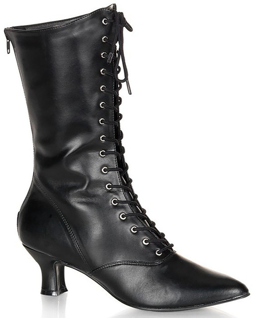 Victorian Black Women Boot