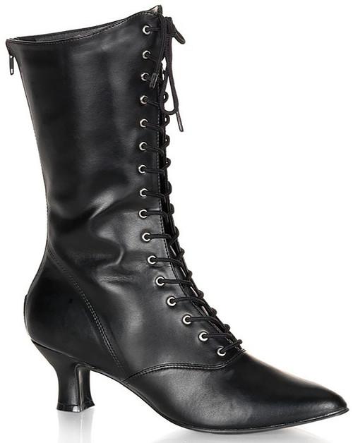 Victorian Black Women Boot