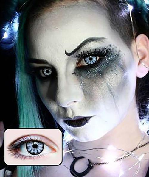 white walker halloween contact lenses