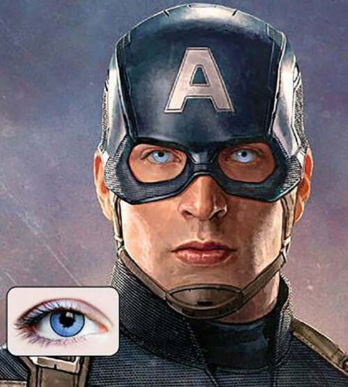 Super Hero Contact Lenses