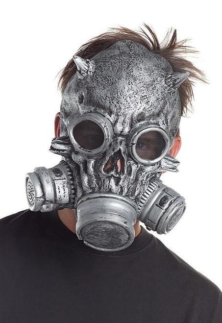 Skeleton Grey Gas Mask