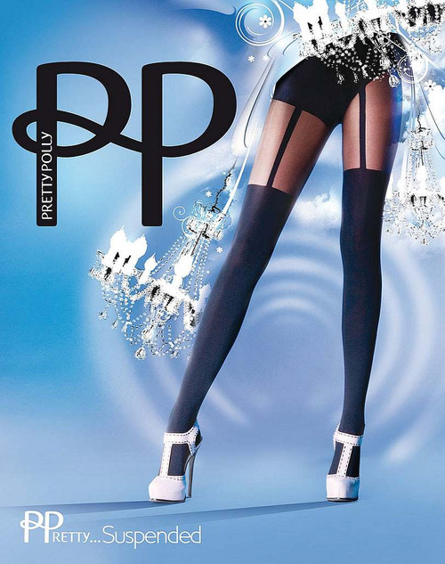 Fashion Suspended Pretty Polly Fabulous Tights
