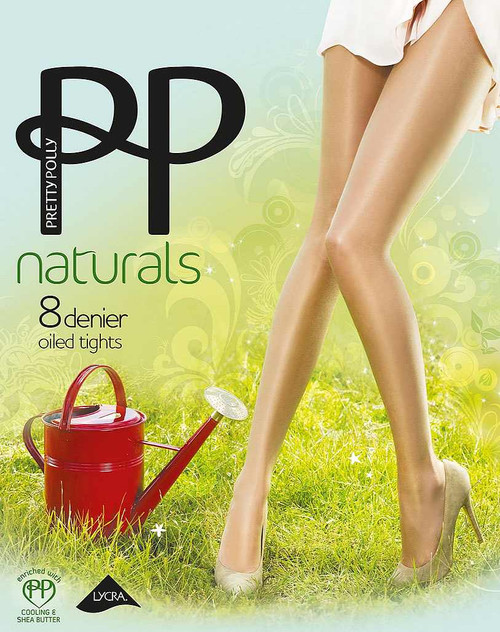 Pretty Polly Naturals Oiled Tights