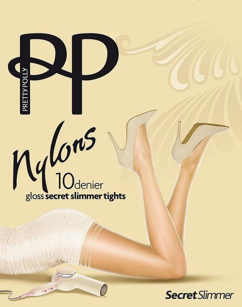 Pretty Polly Nylon Gloss Secret Slimmer Tights