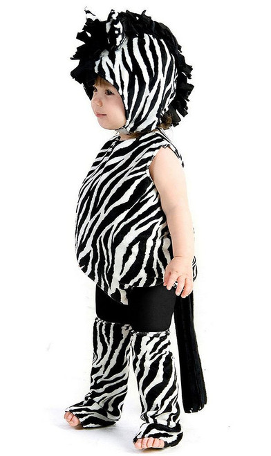 Zaney Zebra Toddler Costume