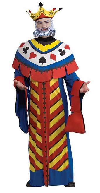 Playing Poker Card King Costume
