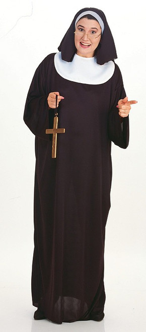 Women's Nun Plus Costume