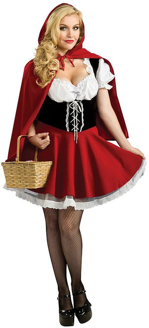 Red Riding Hood Plus Costume