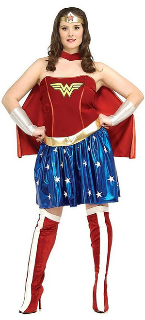 Women Wonder Woman Costume Plus