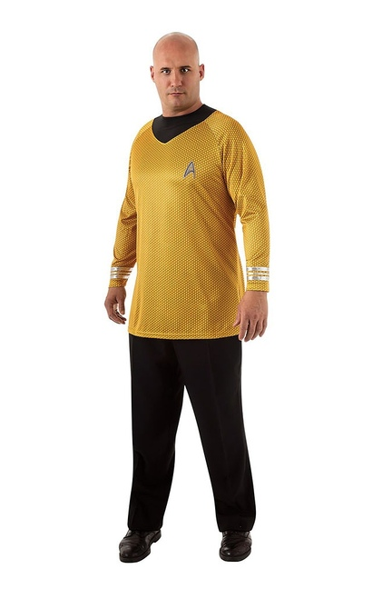 Deluxe Captain Kirk Plus Adult Costume