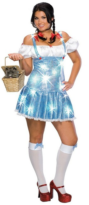 Plus Size Wizard of Oz Dorothy