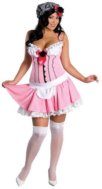 Miss Tuffet Costume Plus