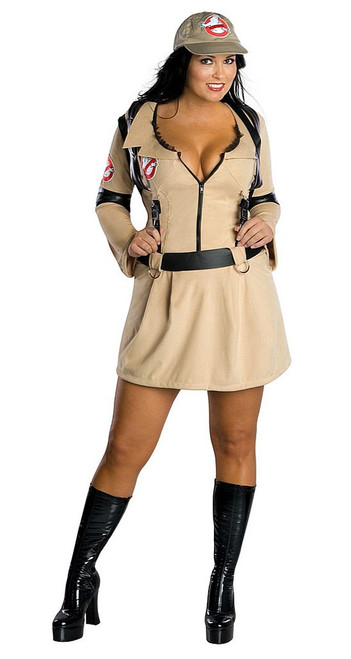 Ghostbusters Women Plus Size Costume