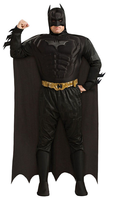 Deluxe Batman The Dark Knight Plus Size Adult Costume