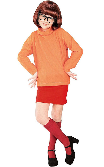 Scooby-Doo Velma Girl Costume
