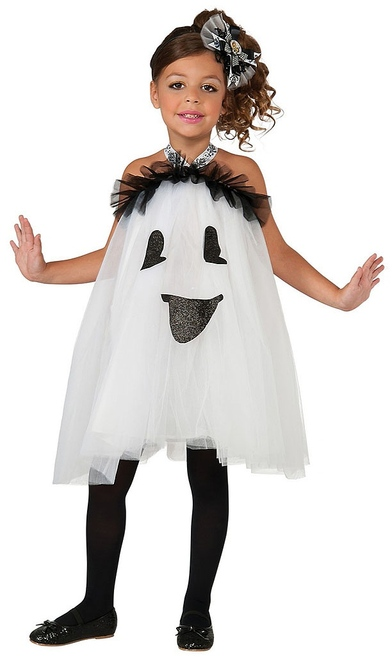 Ghost Tutu Costume for girls