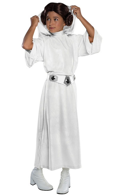 Girls Hooded Princess Leia Costume