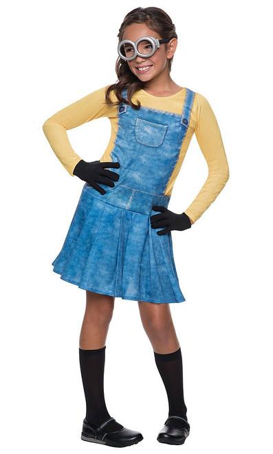 Female Minion Child Costume