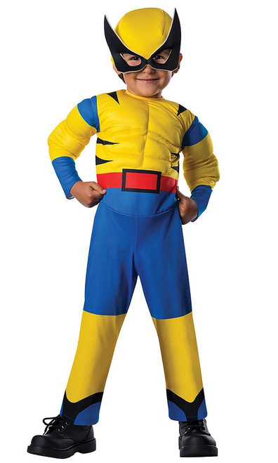 Wolverine Toddler Deluxe Costume