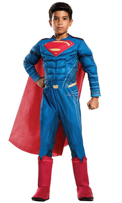 Deluxe Superman Jumpsuit Child