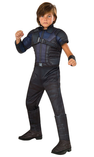 Deluxe Hawkeye Civil War Costume Child